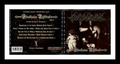 Abyssos Fhinsthanian Nightbreed 1999 Cacophonous Cradle Of Filth Gehenna Odium