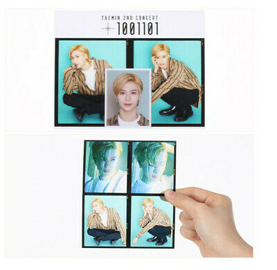 SHINee TAEMIN 2nd CONCERT T1001101 SM Official New Goods Photo Film + ID B Set