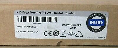 HID 5455 Proximity ProxPro II Wall Switch Reader 5455BGN00 [CTNO]