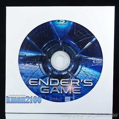 Enders Game (Blu-ray, 2014) BLU-RAY DISC ONLY...CASE & ARTWORK NOT INCLUDED
