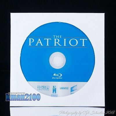 The Patriot (Blu-ray, 2007) BLU-RAY DISC ONLY...CASE & ARTWORK NOT INCLUDED