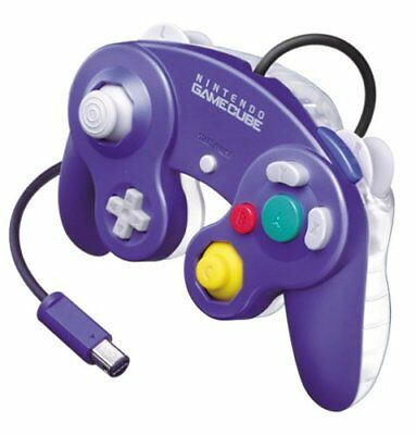 Official Purple Clear Nintendo Gamecube Controller DOL-003