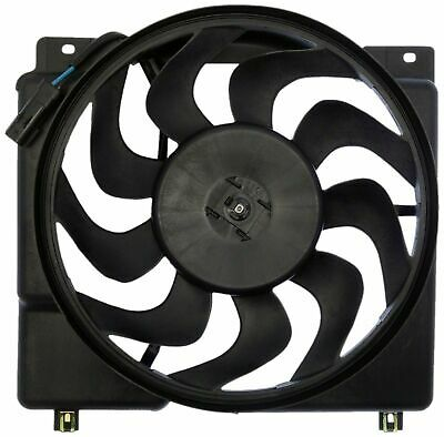 AC Condenser Radiator New Cooling Fan Fits 02 03 04 Jeep Grand Cherokee 4.0L l6