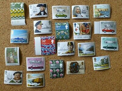 21 mixed NEW unused GB special issue Stamps