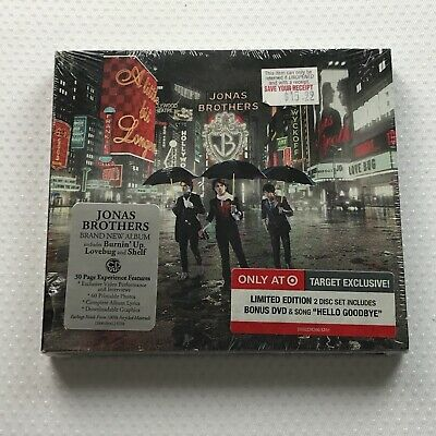 Jonas Brothers - A Little Bit Longer New Target Exclusive Limited Edition CD DVD