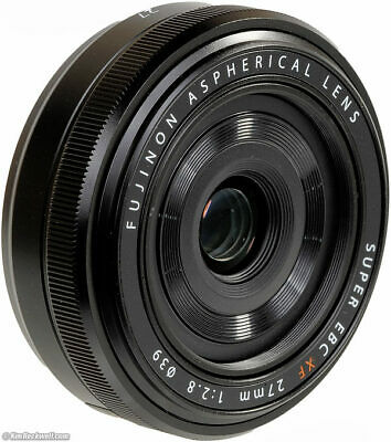 FUJIFILM FUJINON XF 27mm F/2.8 Lens with FREE B+W UV Haze Filter. BOXED