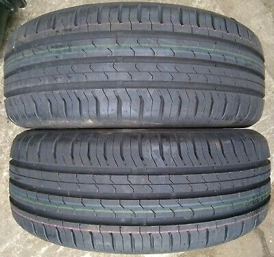2x 185/55 R15 86h XL Continental Conti Ecocontact 5 dot 0218 Normal Tyre