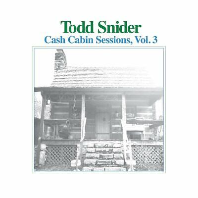 Todd Snider **Cash Cabin Sessions Vol. 3 **BRAND NEW CD