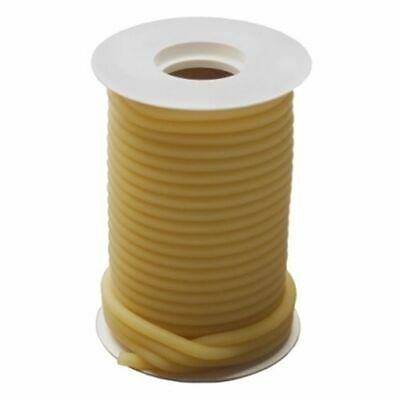 50  Feet 3/16 I.D x 1/16   NATURAL LATEX TUBING SURGICAL RUBBER AMBER
