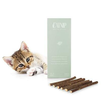 Everanimals 6 Batons De Cataire - Baton Catnip Pour Dent Chat