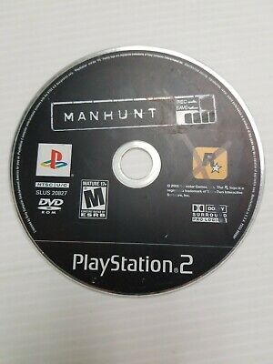 Manhunt (Sony PlayStation 2, 2003) DISC ONLY FAST SHIP