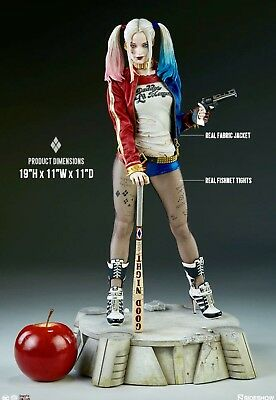 Harley Quinn Suicide Squad  Inflatable Baseball Bat Red Yellow Acid Smiley Face