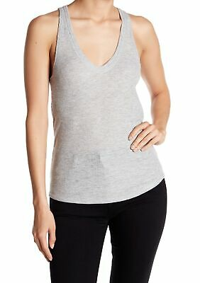 630b11c7c9 Project Social T NEW Gray Womens Large L Scoop-Neck Racerback Tank Top $34  840