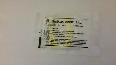 Paediatric urine collection bag x5 (infants , babies ,toddlers ) UK STOCK