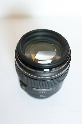 Canon EF 2519A003 85mm f/1.8 USM Lens with Promaster UV Filter
