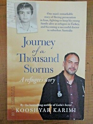 ~Journey of a Thousand Storms by Kooshyar Karimi (Paperback, 2016) - VGC~