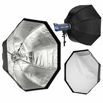 95cm/37.4in Umbrella Softbox Octagon Softbox with Bowens Mount for Studio Light