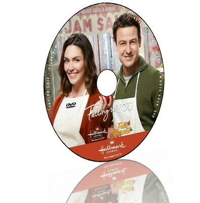 FALLING FOR YOU DVD 2018 HALLMARK MOVIES - Taylor Cole (Disc only)