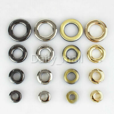 Metal plating Eyelet Screw with washer grommets Leather Craft hardware Accessory