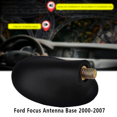 3FBD Black AM/FM Antenna Base for Ford Focus 2000-2007 Antenna Base Adapter