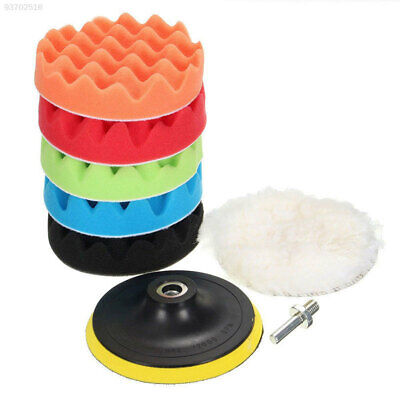 70BE 8pcs Vehicle Portable Buffing Sponge Cleaning Tools 4inch Multicolor