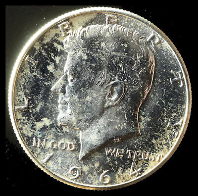 1964-D Kennedy 90% Silver Half Buy 3 get xtra Silver Coin. Ships Free NR