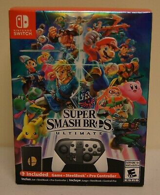 New! Super Smash Bros. Ultimate [Special Edition] (Nintendo Switch, 2018)
