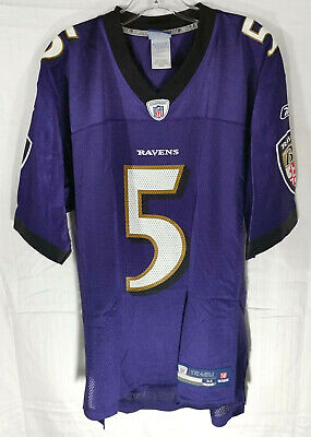 Top AUTHENTIC BALTIMORE RAVENS Joe Flacco Jersey Reebok NFL OnField Mesh  for cheap