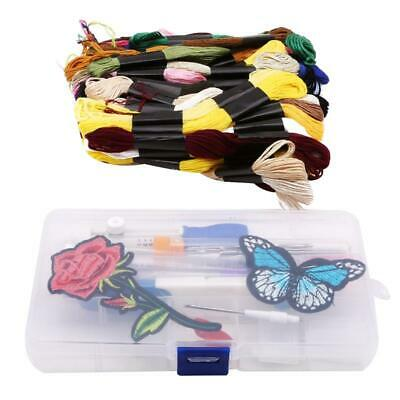 Useful Knitting Sewing Tool Kit Punch Magic DIY Embroidery Pen  Needle Set HD