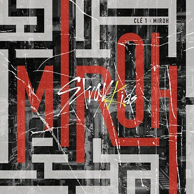 STRAY KIDS CLE 1:MIROH Mini Album NORMAL 2Ver SET+POSTER+Book+Card+GIFT+PreOrder