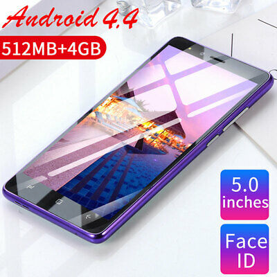 "5"" Unlocked 3G Smartphone WiFi Quad Core Dual SIM  Dual Camera Mobile Phone UK"
