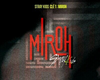 STRAY KIDS 4th Mini Album [Cle1 : MIROH] Random CD+P.Book+3p QR P.Card+Pre-Order