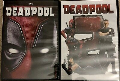 DeadPool 1 and 2 DVD Bundle (Free USPS Shipping)