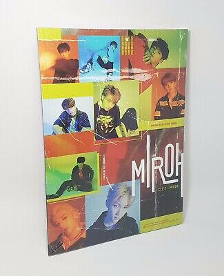 STRAY KIDS 4th Mini Album [Cle1 : MIROH] MIROH Ver. CD+Book+3p QR Card+Pre-Order