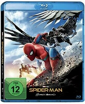 Spider-Man: Homecoming (2017) Blu Ray Neu Original Verpackt in Folie