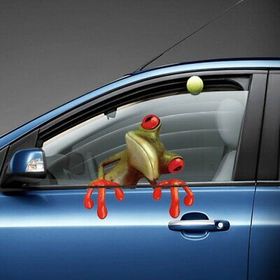 Frog Pattern Self-adhesive Wall Stickers Car Stickers Exquisite Wall Stickers MK