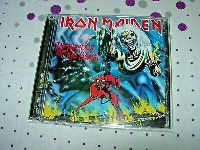 Iron Maiden - The Number of the Beast - 2CD limited edition picture discs