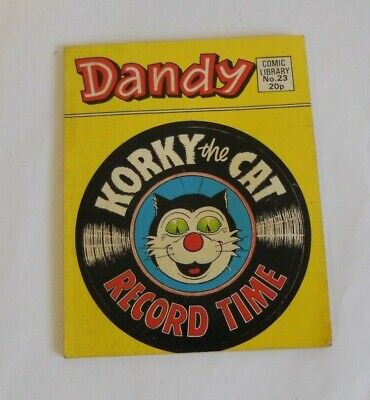 Dandy - Korky the Cat, Record Time - Fun Size Comic Library No. 23, 1984
