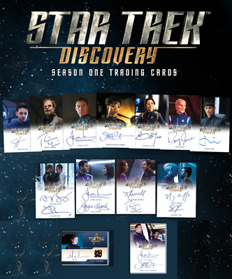 Star Trek Discovery Season 1 Trading Cards Factory Sealed 12 Box CASE