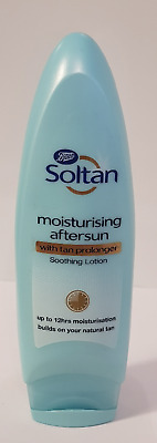 Soltan Aftersun Lotion With Tan Prolonger 200ml