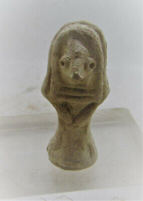Circa 2000Bc Ancient Indus Valley Miniature Terracotta Fertility Figure.