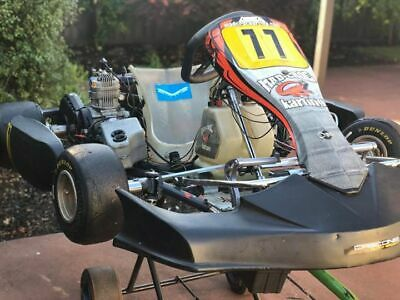 TAG 125 Go Kart (125cc X30 Engine) and Trailer Package