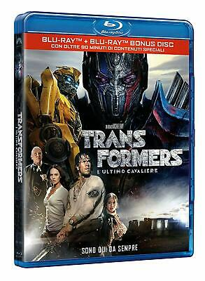Transformers: L'Ultimo Cavaliere Mark Wahlberg BLU RAY NUOVO