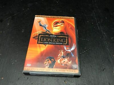 The Lion King (DVD, 2003, 2-Disc Set, Platinum Edition Features All-New Song #37