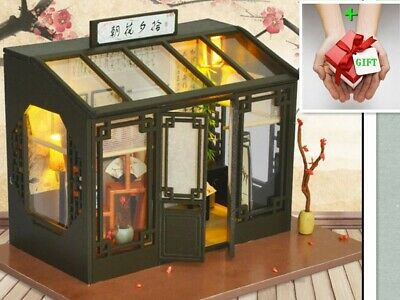 New Dawn Blossoms Plucked at Dusk Dollhouse Miniature DIY Kit doll house+GIFT