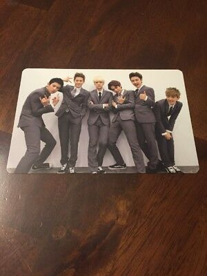EXO 1st Repackage Album XOXO Full Group Large Photocard Official Authentic