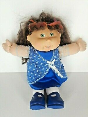 2004 Play Along Cabbage Patch Kid Doll Brown Hair Highlights