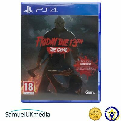 Friday the 13th: The Game (PS4) **GREAT CONDITION**