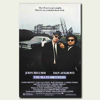 The Blues Brothers 24x36inch Classic Movie Silk Poster Cool Gifts Large Size