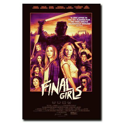 The Final Girls 24x36inch Horror Movie Silk Poster Large Size Art Print